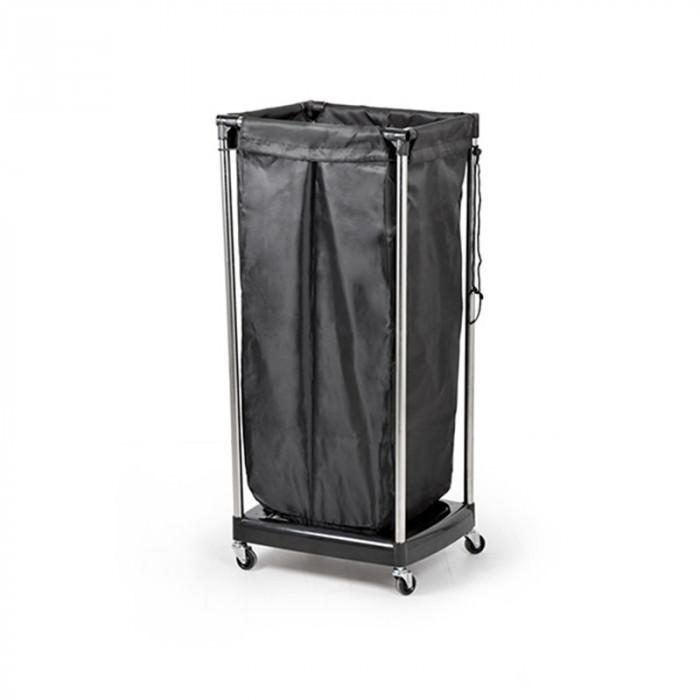 Bifull toallero negro con ruedas oby for Toallero extraible