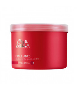 Wella Care Brilliance Mask Cabello Fino/Normal 500ml