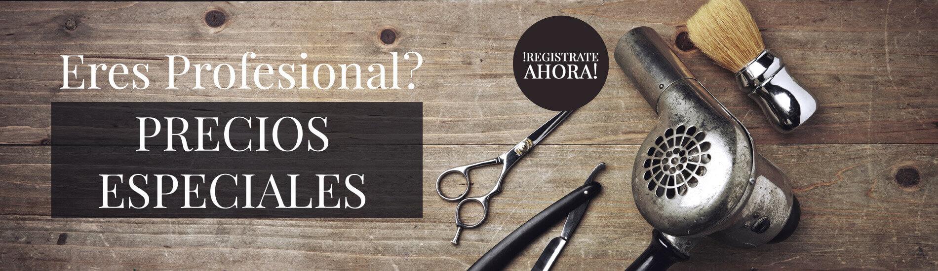 Registra para profesionales de barberia