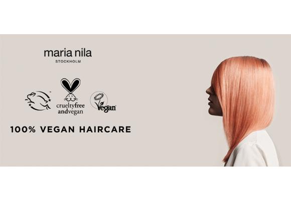 Maria Nila, cosmética 100% vegana sin sulfatos ni parabenos