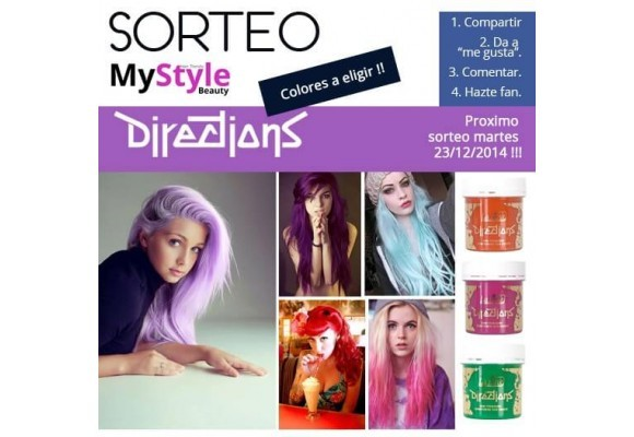 Sorteo Tintes Directions 23/12